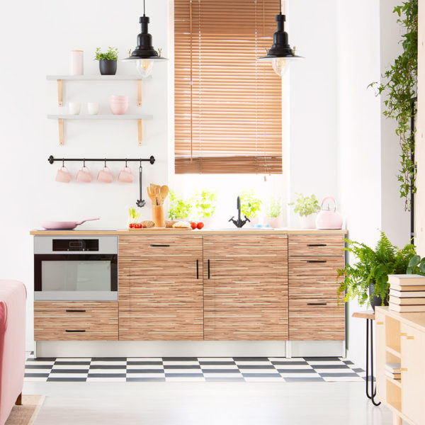 Ringhult Kitchen cabinets made with Wrapdesign
